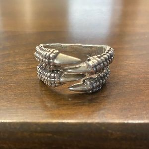 Lazaro men's claw ring